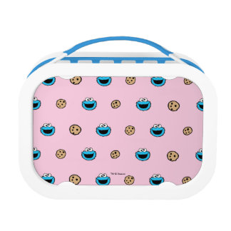 Lunch Box Monstre de biscuit et motif de rose de biscuits