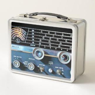 Lunch Box Récepteur radioélectrique d'ondes courtes vintages