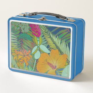 Lunch Box Tapisserie tropicale II
