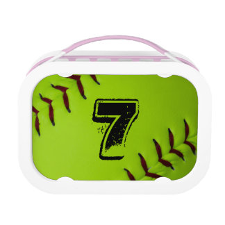 Lunchbox van het softball