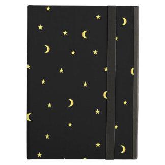 Lune et étoiles d'or étui iPad air