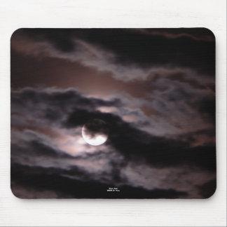 """""""Lune sinistre """" Tapis De Souris"""