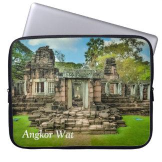 L'UNESCO du Cambodge de temple d'Angkor Vat Housse Pour Ordinateur Portable