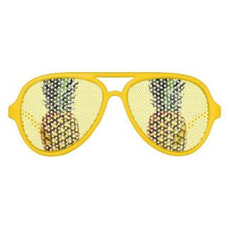 Lunettes De Fête Aviateur La partie drôle de fruit d'ananas ombrage des
