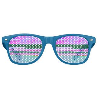 lunettes de soleil de vaporwave d'horizon