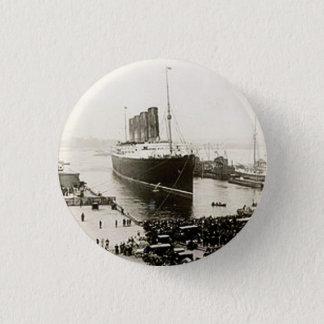 Lusitania de RMS Badge Rond 2,50 Cm