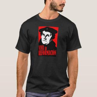 LUTHER de Reformacion de La de vivats T-shirt