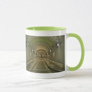 Lutteur tasse vert Hambourg de vieux Elbtunnel