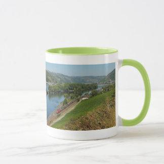 Lutteur tasse vert Rhin moyen-vallée avec des