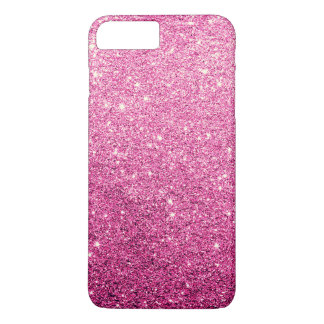 Luxe rose élégant de scintillement coque iPhone 8 plus/7 plus