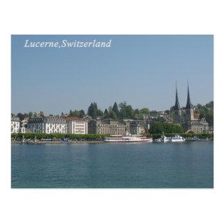 Luzerne, carte postale de la Suisse