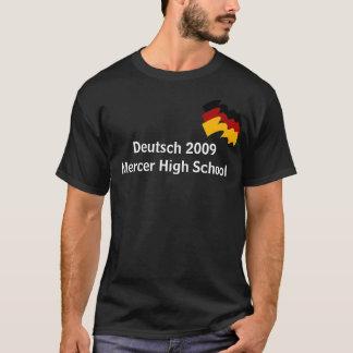 Lycée 2009 de commerçant de tissus d'Allemand T-shirt