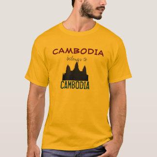 LYDA--Le Cambodge appartient au Cambodge T-shirt