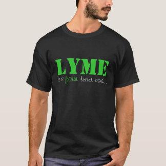 LYME, est a, quatre, mot de lettre… - NOIR T-shirt