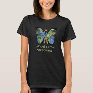 Lyme global et chemise invisible de maladie t-shirt