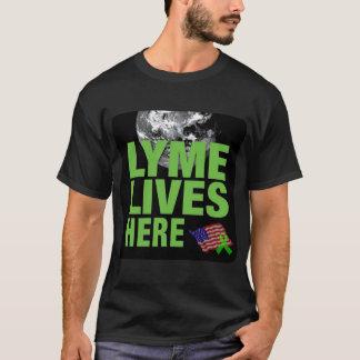 Lyme vit ici dans la chemise des USA T-shirt