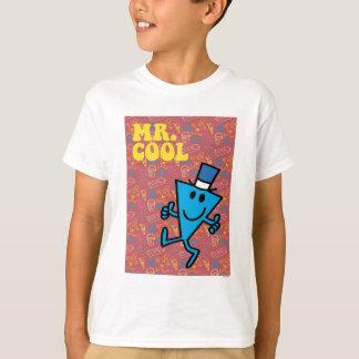 M. Cool | Kleurrijke Achtergrond T Shirt
