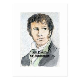 M. Darcy de Pemberley Carte Postale