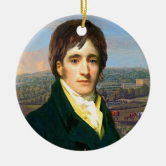 M. Darcy Ornament Ornement Rond En Céramique