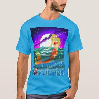 M est pour la sirène t-shirt