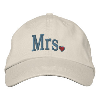 M. et Mme Embroidery Embroidered Cap Casquettes Brodées
