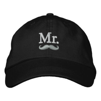 M. et Mme Embroidery Embroidered Cap Casquette Brodée