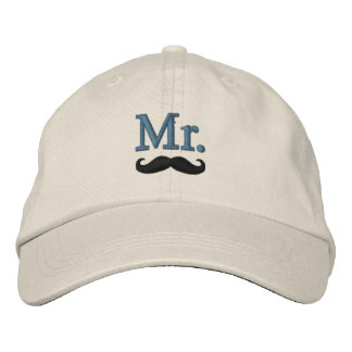 M. et Mme Embroidery Embroidered Cap Casquette De Baseball