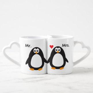 M. et Mme Penguin Love Mug