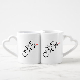 M. et Mme Wedding Couple Mug