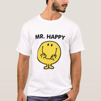 M. Happy | ReuzeGezicht Smiley T Shirt