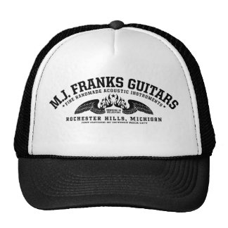 M.J. Guitares de contreseings • Casquette de