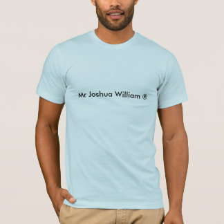 M. Joshua William T-shirt