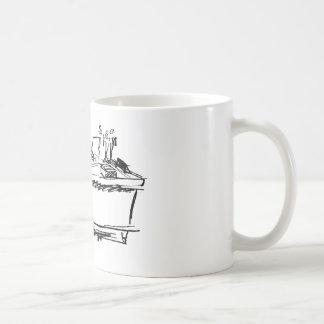 M. magnifique Chim : Workin Mug Blanc
