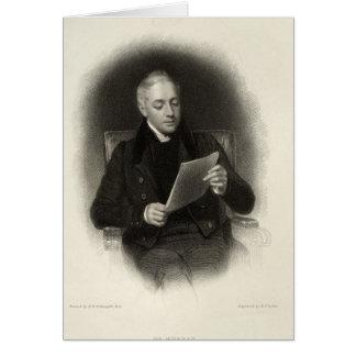 M. Murray, éditeur des travaux de seigneur Byron's Carte De Vœux