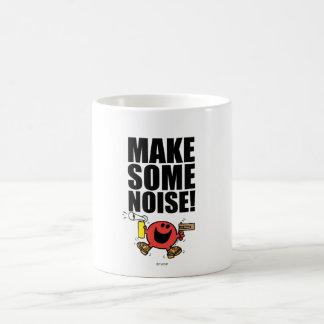 M. Noisy   font un certain bruit Mug Blanc