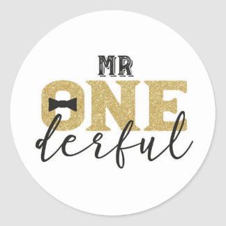 M. Onederful Stickers