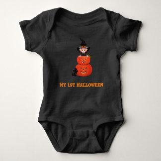 Ma ?ère sorcière de bébé de Halloween Body