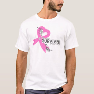 Ma fille a survécu au cancer du sein t-shirt