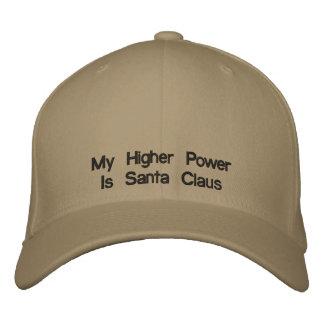 Ma puissance plus élevée est le père noël casquette brodée