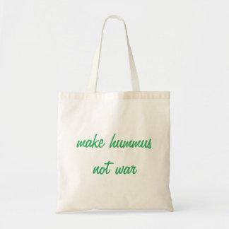 Maak Canvas tas Hummus