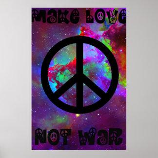 Maak Oorlog I van de Liefde niet Poster