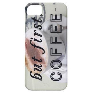 Maar eerst de Grappige Fotografie van de Koffie iPhone 5 Cover