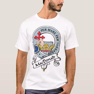 MacDonald d'insigne de clan de Donald T-shirt