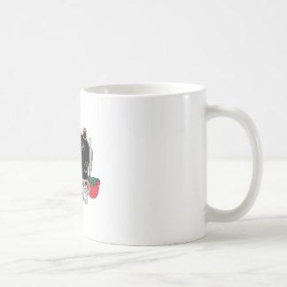 Machine à coudre et édredon mug