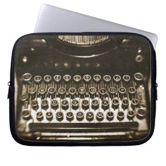 Machine à écrire housses ordinateur portable