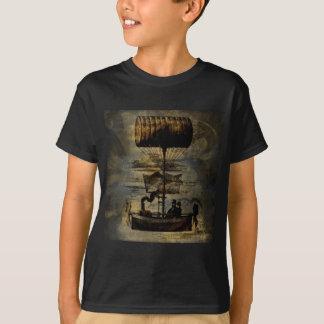 Machine de vol de Steampunk de vol de nuit T-shirt