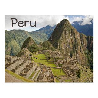 Machu Picchu, ville d'Inca en carte postale des
