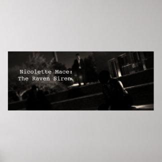 Macis de Nicolette : la sirène de Raven - affiche