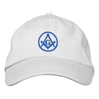 Maçonnique brodé chapeaux brodés