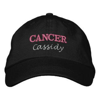 Madame Cancer Zodiac Embroidered Cap Casquette De Baseball